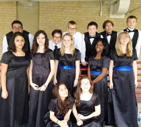 The TMEA Region 8 Middle School Choir Concert at Killeen High School