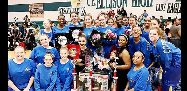 COURTESY PHOTO - The Copperas Cove High School Copperettes won 36 awards at their first two dance competitions of the season and are preparing to dance at Disney World later this summer.