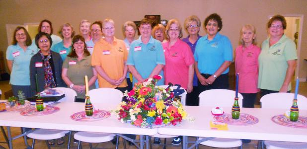 COURTESY PHOTO - The Browning Community Garden Club recently hosted the District V spring meeting welcoming 75 representatives from 14 cities.