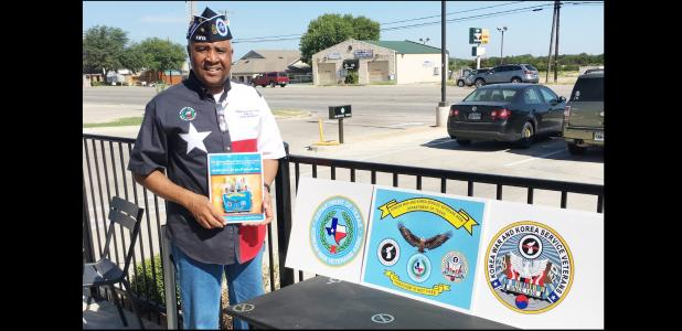 CCLP/J.S. FREDERICK - Retired first sergeant Eddie Bell Jr is a Cove resident and also the president of the Korean War Veterans Association for the state of Texas. The KWVA strives to help Korean war veterans.