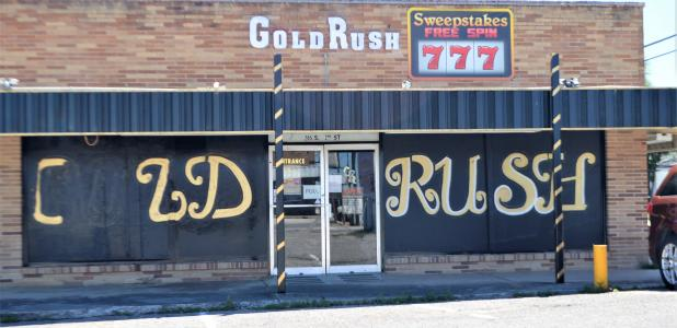 "CCLP/LYNETTE SOWELL The Gold Rush, located at 205 S. 2nd St. was burglarized on March 9, with a security system DVR, bank deposit bags, and $1,163.53 in United States currency reported as stolen. Then on March 29, $6,000 was reported as stolen from that establishment. At its Tuesday evening workshop, the Copperas Cove city council heard statistics and information from the Copperas Cove Police Department regarding criminal activity that takes place at or near sweepstakes businesses, also called ""Internet Caf"