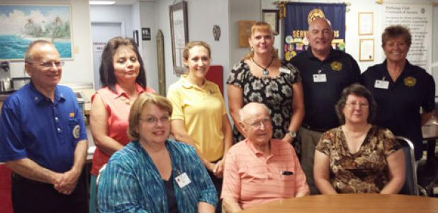 The Copperas Cove Exchange Club inducted their new board and officers for the 42nd year of service. Serving as President for the club will be Mark Peterson, President-elect is Marty Smith, and Secretary will be Bethany Burkholder with Nicole Vess serving as the vice president of programs.