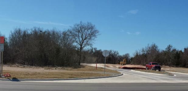 Construction on the infrastructure of the Narrows continues and is nearly complete at 90 percent.