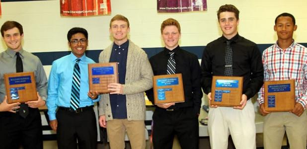 Copperas Cove baseball players were recognized for their accomplishments during the 2014 Dawg Baseball Banquet Tuesday at the high school.