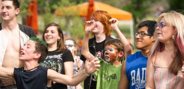 A crowd of all ages enjoyed the music at Donner Fest XXI in Lampasas last weekend.