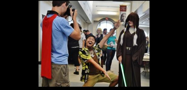 Costumes were all the rage at Geek Fest over the weekend.