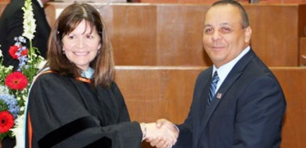 Copperas Cove Police Department's Sergeant Martin Ruiz graduates from the Law Enforcement Management Institute of Texas.
