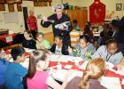 Courtesy Photo/CCISD Teriyaki Chicken got the highest marks from Martin Walker Elementary students in a taste testing of cafeteria foods as students gave their feedback to the CCISD Child Nutrition Department as to what items should be on next year's school lunch menu. Many children had never used chopsticks before or tasted Asian cuisine.