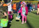 Kids 0-12 years if age will have the chance to scramble for eggs and prizes at City Park on Saturday.