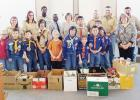 COURTESY PHOTO - Picture with Cove Soup Kitchen, Cub Scouts, and First Presbyterian Church representatives