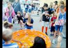 CCLP/LYNETTE SOWELL - The duck pond fishing game stayed busy during Saturday night's National Night Out Kickoff Party held in downtown Copperas Cove. In addition to games and activities, along with door prizes, the two-hour event featured food, music, and more.