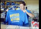 "CCLP/LYNETTE SOWELL - The Quarterback Club shirts with this year's slogan ""Success is not inherited – Attitude is Everything"" are on sale now at home game concession stands and at the weekly Quarterback Club meetings on Wednesday at noon at Lil Tex Restaurant."