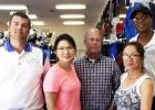 CCLP/PAMELA GRANT - C & C Sporting Goods and their staff celebrated 24 years in business with a Customer and Coach Appreciation Day on Saturday