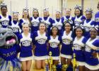 CCISD/Courtesy Photo - The CCHS Varsity and Junior Varsity squads won multiple awards at the UCA camp at Texas A&M including first place in their respective cheer divisions. Four varsity cheerleaders were also named All-American cheerleaders.