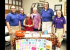 CCLP/DAVID J. HARDIN - Members of the International Order of the Rainbow Girls were on hand to talk to Cove residents about the organization and their service projects during the open house held Sunday at Mt. Hiram Masonic Lodge #595.