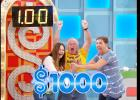 Courtesy Photo/CBS - Manfred Zimmer of Copperas Cove rejoices with fellow contestants at winning $1,000 on The Price Is Right. Zimmer went on to win the Final Showcase, worth more than $40,000.