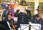 CCLP/J.S. FREDERICK - The First Cavalry Band plays tunes from the past at Saturday's Spirit of '45 held at Stoney Brook Assisted Living Center