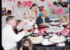 CCLP/PAMELA GRANT - The Rabbit Fest Royalty invited parents and their children to attend a pre-Valentine's Day tea party.