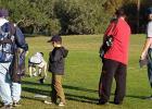 CCLP / PAMELA - Los padres y sus hijos participan en el torneo de golf.