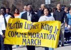 File Photo - Dr. Martin Luther King Jr. supporters march down Fm 116 in Copperas Cove as they pay tribute during the annual march to honor the legacy of the rights activist.