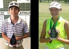 Courtesy photos - Cove senior Dustin Dean, left, and freshman Madelyn Miller each earned Beltway Junior Golf Tour's Player of the Year award for finishing atop the tour standings in their respective divisions of the Centex Region.