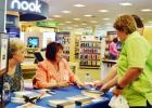 Eva Piper signs a book at Barnes & Noble on Saturday. Piper will return for a one-day ladies' conference in Killeen on May 3.
