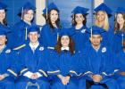 Courtesy Photo/CAMERA ARTISTRY - Crossroads High School graduates celebrated receiving their diplomas on Thursday evening during a ceremony at Lea Ledger Auditorium.