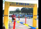File Photo - HEB Plus General Manager Tim Smith crosses the finish line during last year's Gallop or Trot 5K at Copperas Cove City Park. This years event will be a chip timed event on Saturday, Sept. 17.