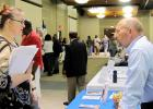 CCLP/PAMELA GRANT - Nearly 30 different organizations joined Central Texas College's Veteran's Benefits Expo which offered information on a wide array of topics geared towards helping veterans, soldiers, and their families.