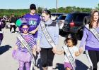 Courtesy Photo - The City of Copperas Cove Rabbit Fest royalty step out at the 2nd Annual Run/Walk for Lupus in Copperas Cove. This is the titleholder's second year to participate in the event which raises money to support families battling this deadly disease.