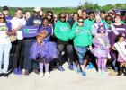 CCLP/PAMELA GRANT - Dozens showed up to support Team J. Lyons' second Walk For Lupus at Ogletree Gap Park on Saturday.