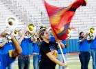 The Pride of Cove Band showcased two thirds of their contest show Tuesday.