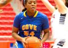 Cove sophomore Chyanne Chapman was named District 12-6A Newcomer of the Year