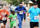 A group of runners make their way through the neighborhoods of Copperas Cove as they take part in the annual 5K Gallop or Trot sponsored by H-E-B Plus!